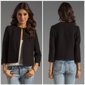 Vince Wool Cropped Jacket